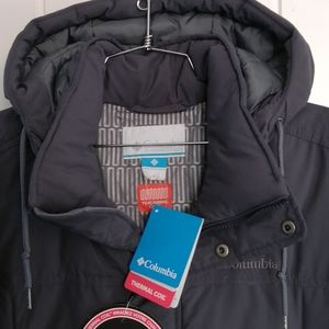 New Columbia jacket for men thermal thermal coil
